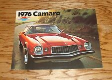 Original 1976 Chevrolet Camaro Sales Brochure 76 Chevy Sport Coupe LT Rally