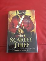 THE SCARLET THIEF Paul Fraser Collard Signed Lined Dated First Edition Hardcover
