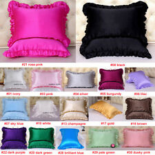 1pc 16mm 100% Silk Pillow Case Cover Sofa King Queen Standard Travel Baby Size