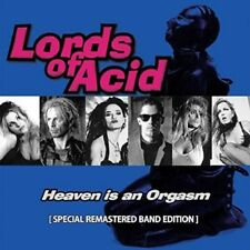 LORDS OF ACID - HEAVEN IS AN ORGASM (SPECIAL REMASTERED BAND EDITION)   CD NEUF