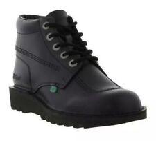 Kickers Kick Hi  Girls Black Boots Junior Size 32