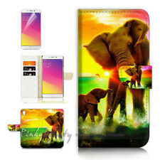 Elephant Tpu Phone Wallet Case Cover For New Vodafone Smart E9 - 21690