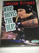 Jason Bittner - What Drives The Beat (DVD, 2008)