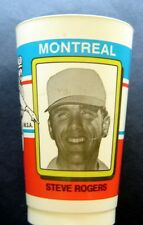RARE 1980 Montreal Expos Steve Rogers Plastic Baseball Cup M Black & Son Canada
