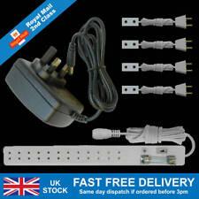Dolls House Lighting Starter Kit With 12 Volt 2 Amp Power Supply for 40 Bulbs
