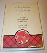 HOLIDAY PARTY Invitations Kit Computer Printable 10 CARDS & Envelopes HALLMARK