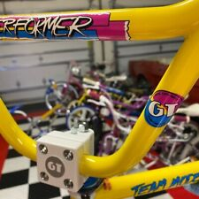UltraHive - Small Magenta 1987 GT Performer Coin Decal - Pro Freestyle BMX