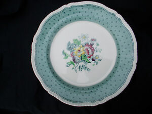 Ridgway PLYMOUTH. Round Platter or Chop Dish. Diameter 12 inches.