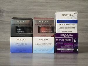 Biocura Feuchtigkeitscreme Anti Aging Nachtcreme Tagescreme Gesichtscreme Maske