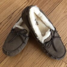 Uggs New Mens Shearling Olsen Moccasin Slippers Size 8/9 - NIB