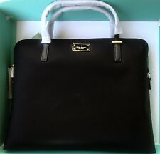 Kate Spade New York Daveny Classic Nylon Laptop Case Bag in Black NWT $248