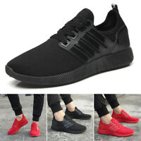 New Mens Running Trainers Lace Up Casual Shoes Fashion Gym Sneakers US Size 7-9