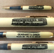 GEARHART'S DINER Ellicott City MD - RARE Illustrated MECHANICAL PENCIL ca1947