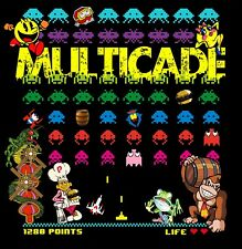 NEW GAME BOARD DESIGN Arcade Classics Sideart Set (2 PC set) Multicade  26 X24