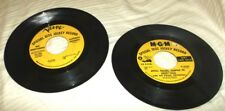 Lot of 2 MGM , Verve 45 Special Disc Jockey Record -Wes Montgomery, Happy Louie