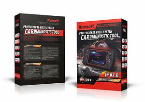 iCarsoft JP V2.0 OBD Diagnose passt für Mazda CX-3, mit Service Funktionen