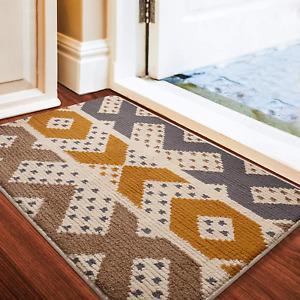 """Indoor Doormat Front Door Mat 24""""x36"""" Waterproof Non Slip Washable Quickly Absor"""
