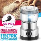 Electric Coffee Bean Grinder Nut Seed Herb Grind Spice Crusher Mill Blender 2021