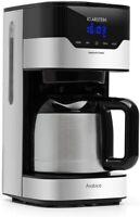 Klarstein Arabica Cafetera Potencia: 800W Capacidad: 1,2 L Intensidad Regulable
