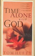 TIME ALONE WITH GOD A DAILY DEVOTIONAL By Tom Hufty Hardcover PERFECT condition