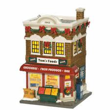 Dept. 56 Snow Village Tom's Foods #808947 NIB