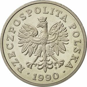 [#429246] Poland, 50 Zlotych, 1990, Warsaw, MS(65-70), Copper-nickel, KM:216