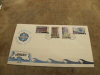 1982 Jersey First Day Cover, FDC - Historical Events / Island Satellite images
