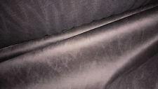 massima qualità stoffa pelle scamosciata daino velluti col marrone taupe 50x120