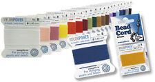 (0,50€/m) Perlseide Nylon Power auf Kärtchen a' 2m in diversen Farben u. Stärken