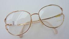 Zeiss 6817 Damen Brille Gestell große Gläser Vintage oversized 70s Metall size L