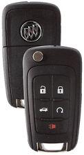 NEW Buick GM OEM  Switchblade Flip Key 5 Button Remote  13504202 5912559 LOGO