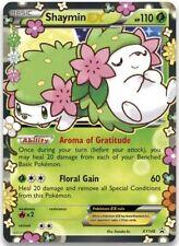 Pokemon Card Shaymin-EX Ultra Rare XY148 Floral Gain Twin Art Promo MINT