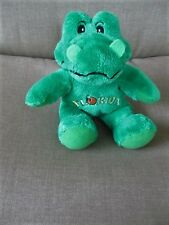 "Souvies Brand 8"" Green Alligator Florida Embroidery Chest Stuffed Plush Gators"