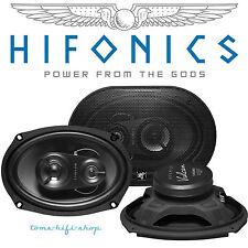 "Hifonics Vulcan VX-693 6x9"" 3-Wege Boxen oval Auto Lautsprecher Hutablage 250 W"