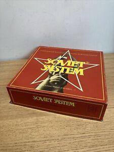 Ancien jeu de société SOVIET SYSTEM complet 1988