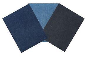 1 Pair Nortexx Iron On Repair Patches Cotton Or Denim 13x10cm  Quick & Easy Fix