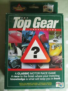 Top gear Travelling race game.Board game vintage games.