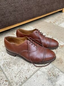 Men's Trickers Brown Shoes, Size 7 UK.