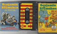 Benjamin Blümchen Folge 6 und die Schule Teldec/ Kiosk Kassette EA RAR