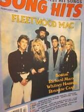 Song Hits February 1988 Magazine-Fleetwood Mac/Boston/Richard Marx/Whitney Houst