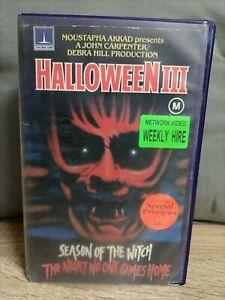 Halloween 3 (1982) Force Video VHS - Original Thorn EMI Slick