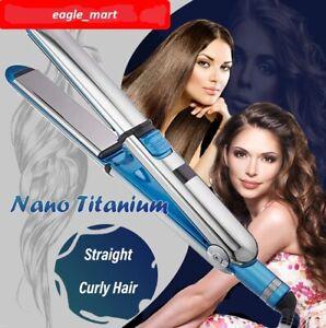 New Babyliss Pro Prime 3000 Nano Titanium Flat Iron 750F Hair Straightener