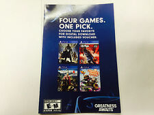 Playstation4 Game Voucher -Pick 1 game- NBA2K15/ Farcry4 /LBT3 (EXP.12.2017)
