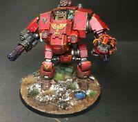 Warhammer 40K Blood Angels Redemptor Dreadnaught Well Painted