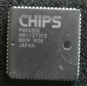 IC P82A205, 1 Stück, Chips And Technologies Inc PC AT