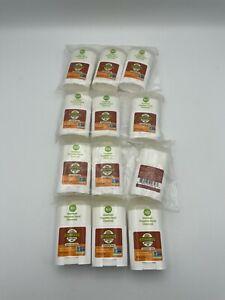 12 Stinkbug Naturals Travel Size Deodorant Tangerine Spice .5 Oz each Bs95