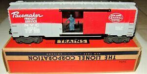 POSTWAR LIONEL 3494-1 NYC OP. BOXCAR(1955)~MINT C-9 UNRUN~WITH NICE OB