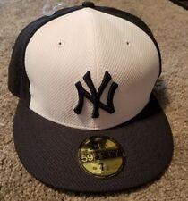 New Era New York Yankees Navy White Game Diamond Era 59FIFTY Fitted Hat 7-5/8
