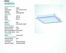 AURIGA plafoniera grande 1 luce da 100W R7S cromo EGLO 85094