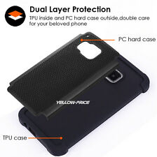 [PC+TPU Dual Layer Cover] Armor Case +HD Clear Film Protector for HTC ONE M9